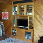 cherry custom cabinets South Kingstown