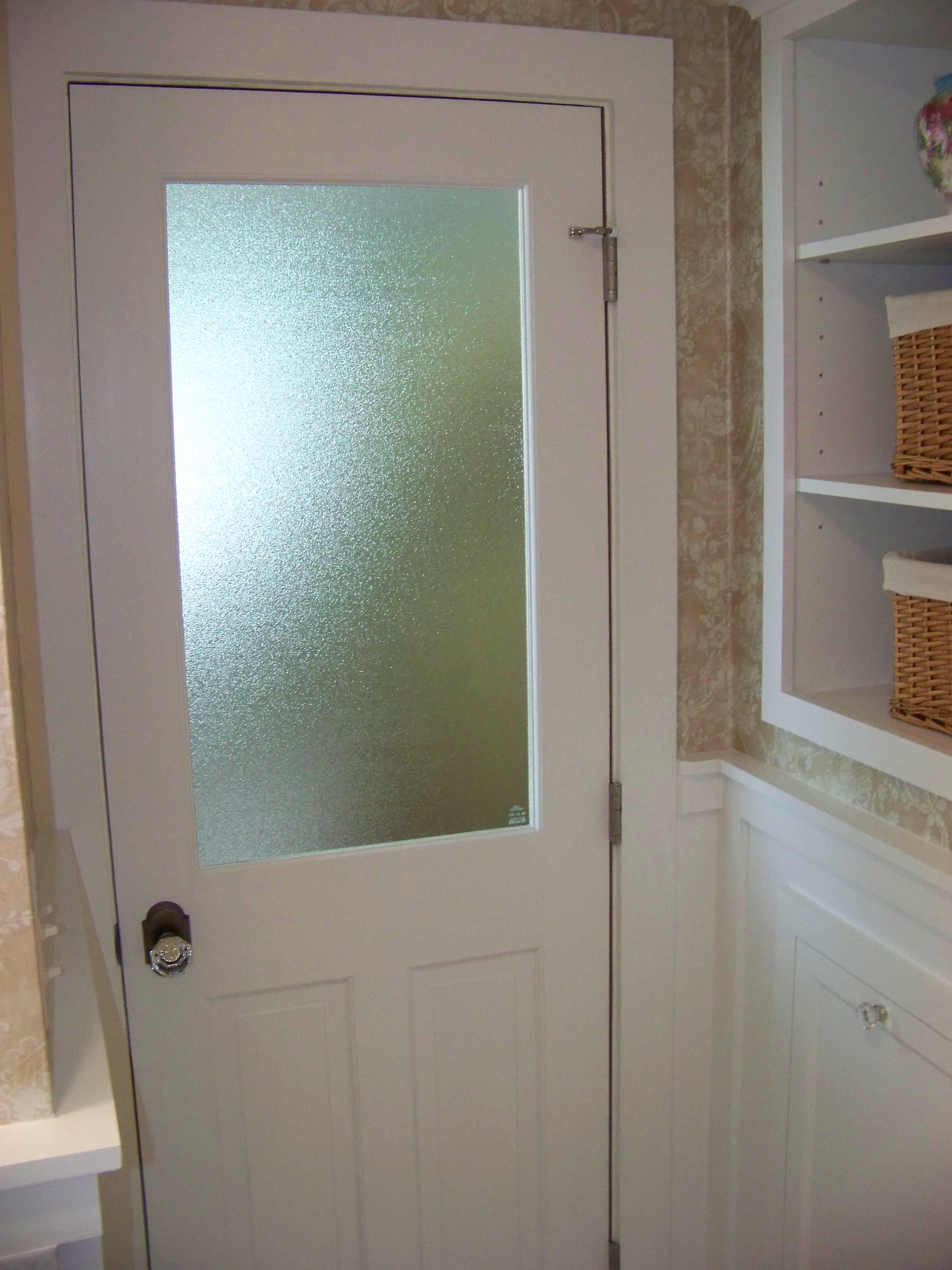 Frosted glass interior doors for bathrooms - Glass Bathroom Doors Interior Interior Design Bathroom