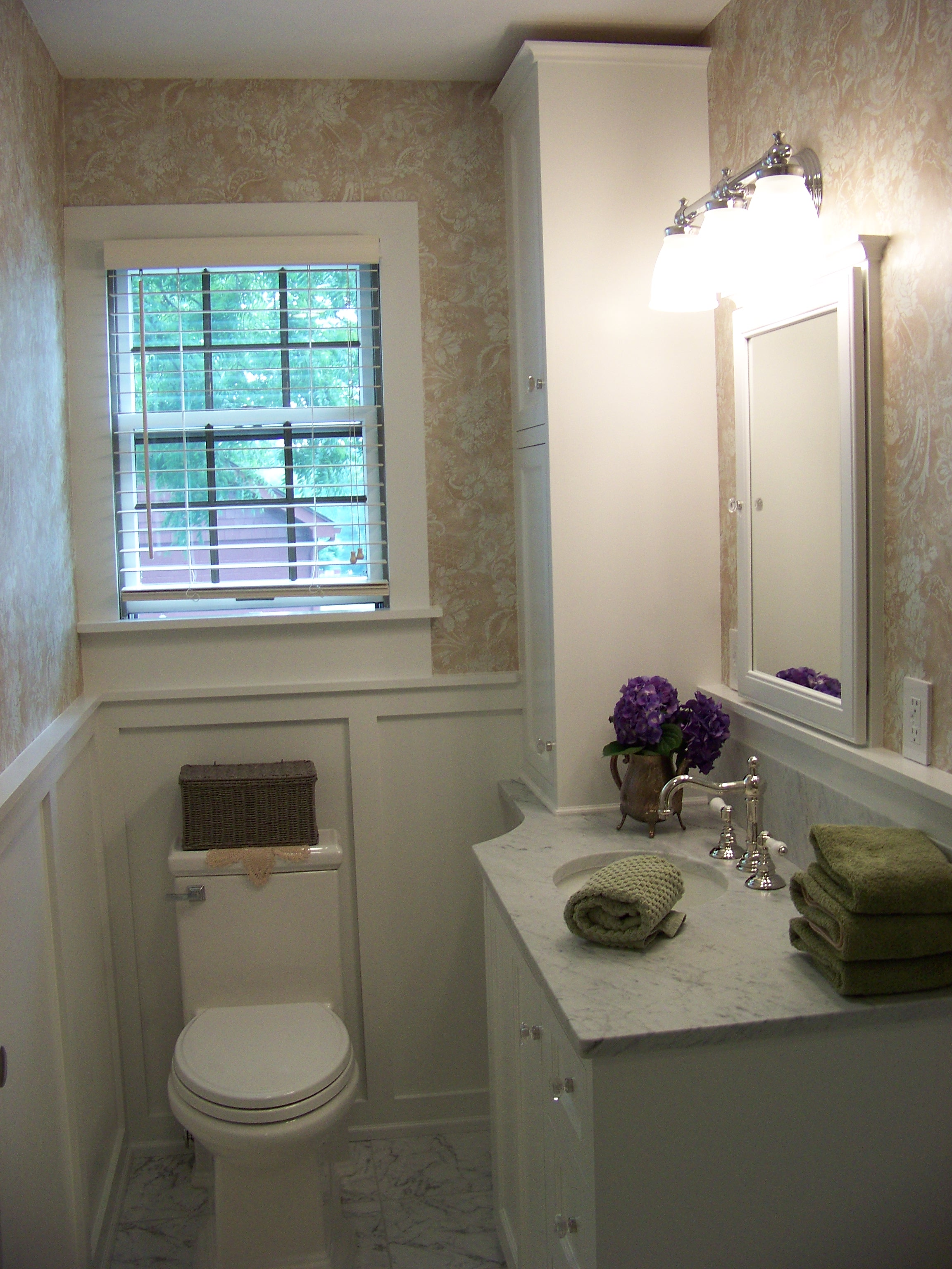 Master Bathroom Remodel Ri Kmd Custom Woodworking 401